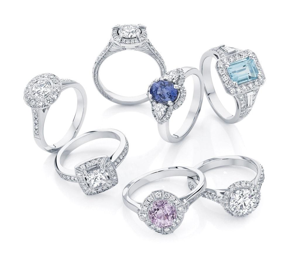Coloured Gemstone Jewellery